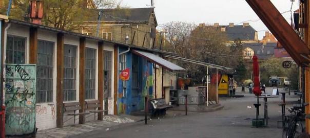 Cykelrute og Husleje på Christiania. De konservative vil videoovervåge.