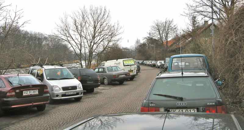 København drukner i trafik